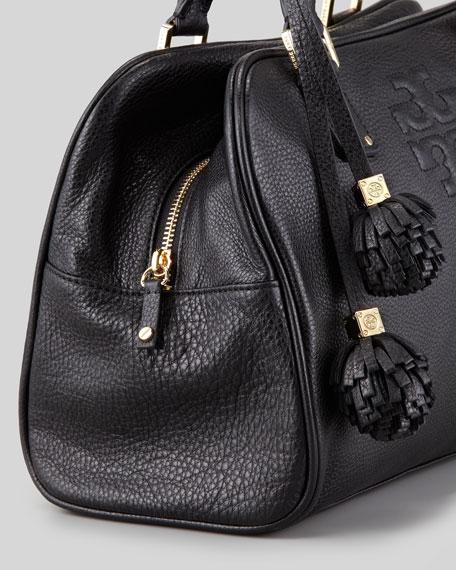Thea Satchel Bag, Black
