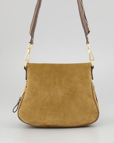 Jennifer Medium Leather Crossbody Bag