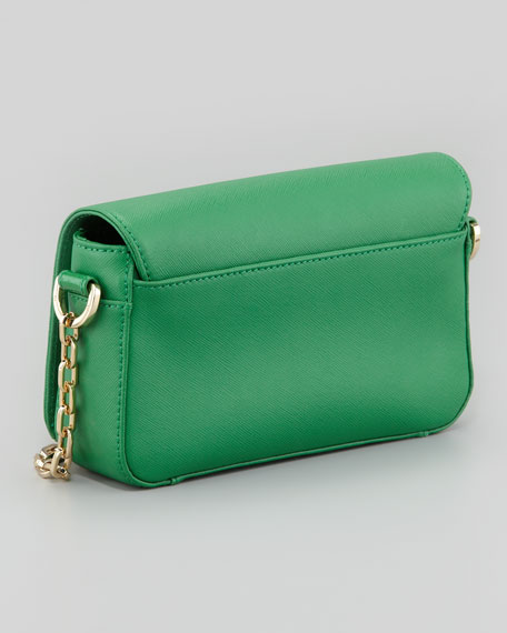 Mini Robinson Chain-Strap Bag, Emerald City