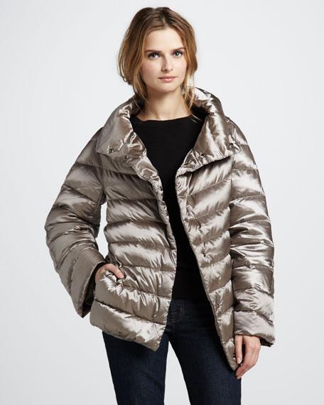 Chevrotine Puffer Jacket