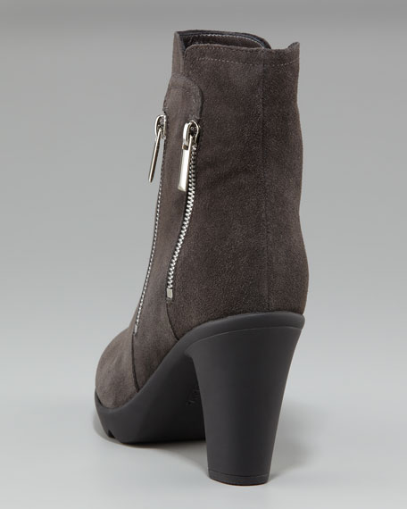 Weatherproof Double-Zip Bootie