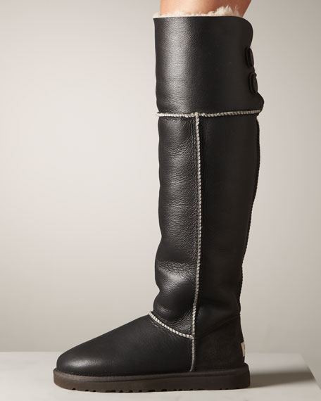 Bomber-Jacket Boot