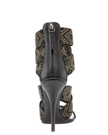 Tribal Beaded Sandal