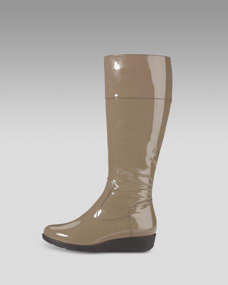 Air Tali Tall Patent Rain Boot