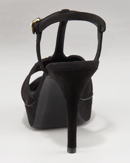 Tribute Chain-Detail Sandal
