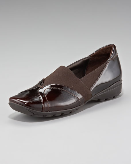 Patent Leather Slip-On Loafer