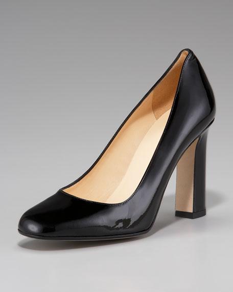 zacar chunky heel pump