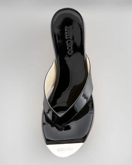 Pathos Mirror-Toe Thong Sandal