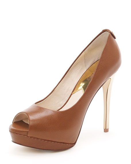 Josie Peep-Toe Pump