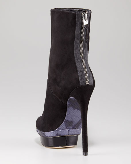Platform Stiletto Boot