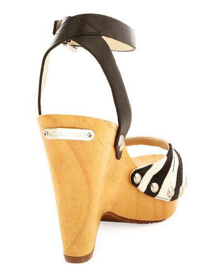 Easton Wood Wedge Sandal