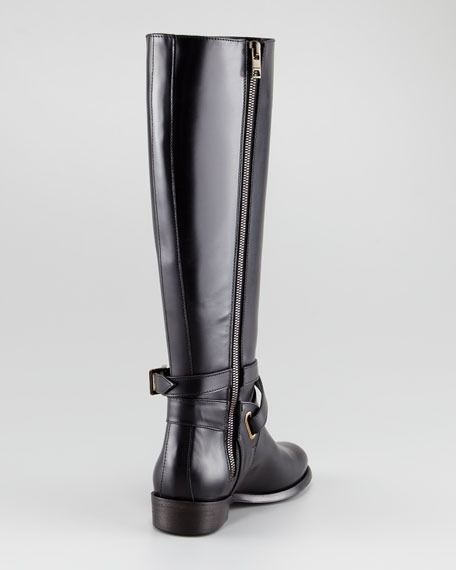 Tall Leather Boot