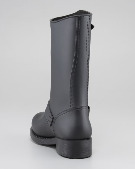 PVC Bow-Detail Rain Boot