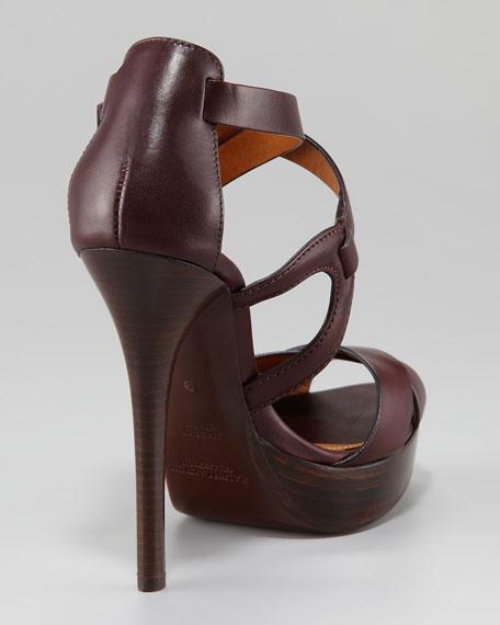 Jesita Crisscross Platform Sandal