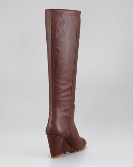 Sophie Wedge Knee Boot
