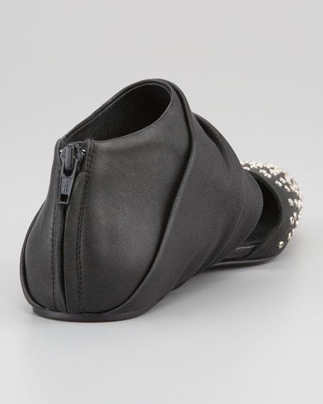 Grommet Detail Ballerina Flat