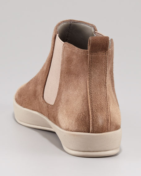 Stretch Gore Ankle Boot