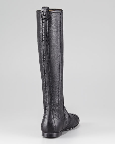 Arena Leather Knee Boot