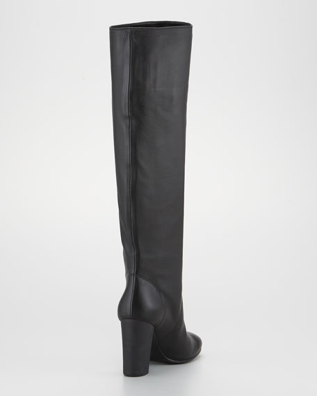 Lambskin Knee Boot