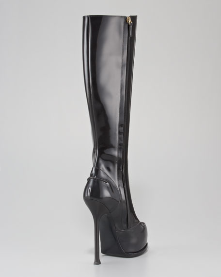Tribtoo Platform Knee Boot
