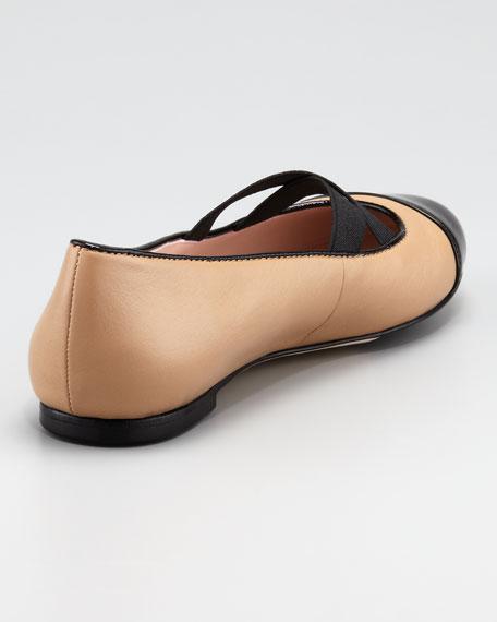 Bice Crisscross Ballet Flat