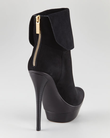 Dora Cuff Button Bootie