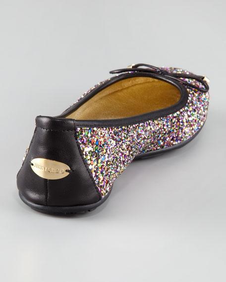 Walsh Glitter Ballet Flat