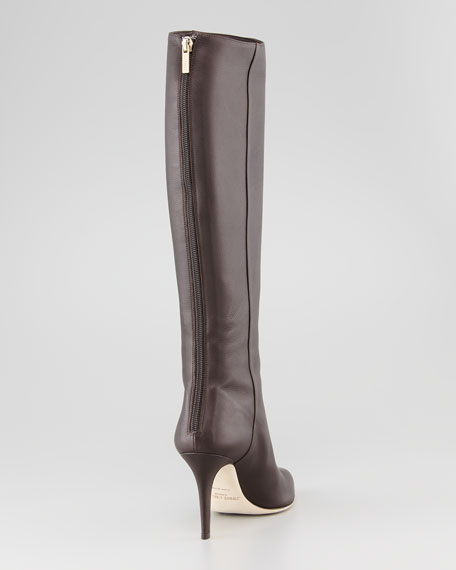 Grand Leather Boot, Brown
