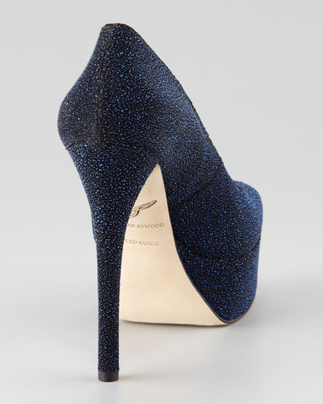 Bambola Sugar Paint Peep-Toe Pump