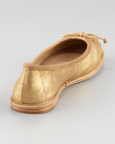 Blake Metallic Ballerina Flat
