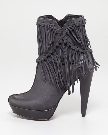 Mirage Fringe Ankle Boot