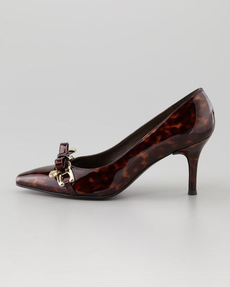 Bowsie Patent Leather Pump