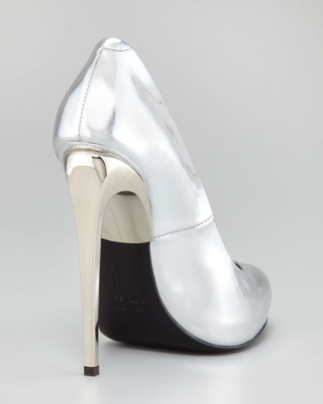 Mirror Patent Leather Pump