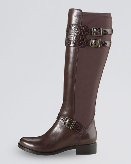 Tennley Buckled Knee Boot