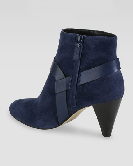 Calico Suede Ankle Boot, Blazer Blue