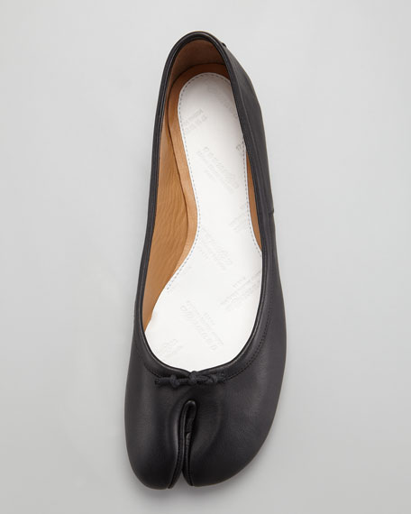 Split-Toe Ballerina