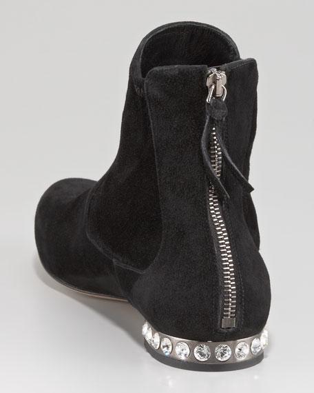 Jewel-Heel Bootie