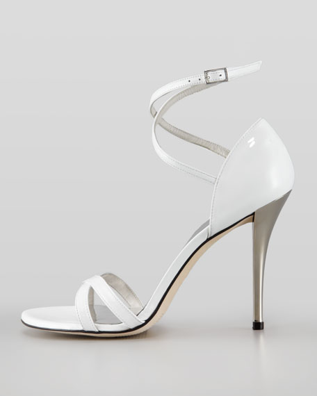 Strappy Patent Leather Sandal