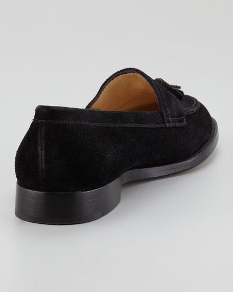 Aldena Tasseled Suede Loafer