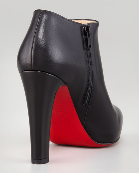 Vicky Napa Red Sole Ankle Bootie