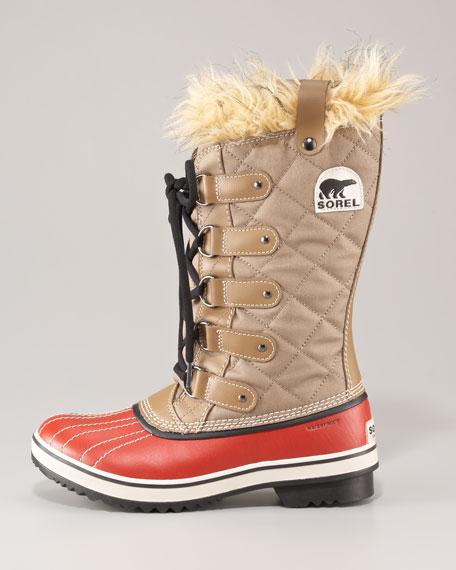 Tofino Leather Waterproof Boot, Trail/Autumn Bronze