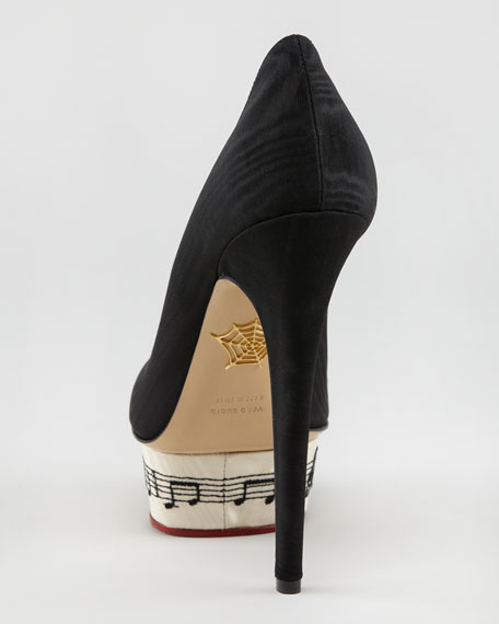 Dance With Me Dolly Symphony Island-Platform Pump