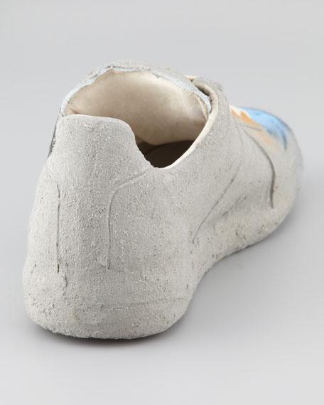 Cement Graffiti Sneaker