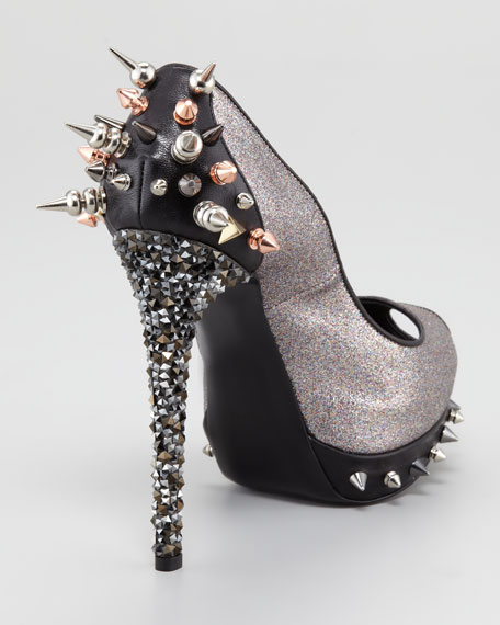 Bond Glitter Stud Pump