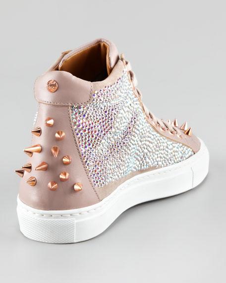 Pierce Sparkle High-Top Sneaker