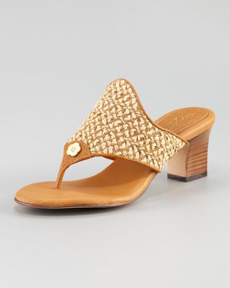 Squishee Bula Braid Sandal