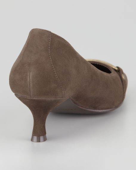Suri Ornament Low-Heel Pump
