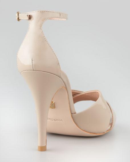 Kalinda Patent Sandal