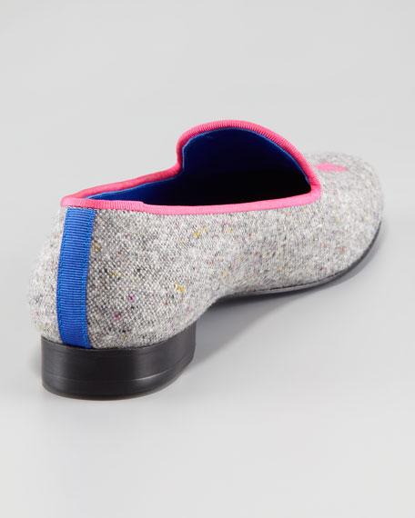 Audrey Tweed Smoking Loafer