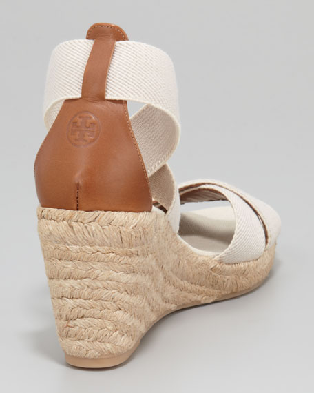 Adonis Stretch Espadrille Wedge